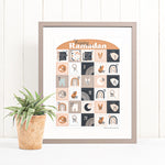 Load image into Gallery viewer, Luna Advent Calendar printable