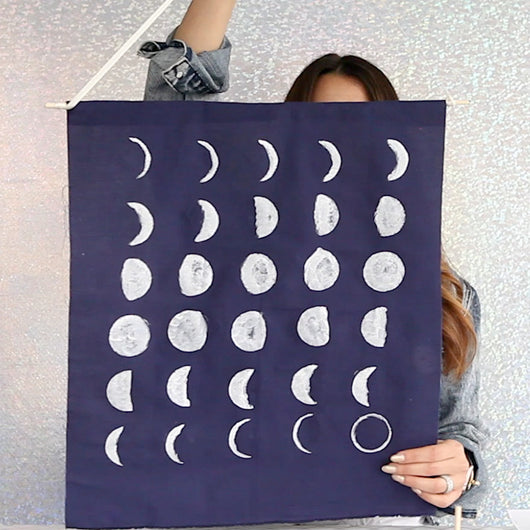 modernEID TV: Moon Phase Art DIY