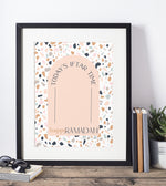 Load image into Gallery viewer, Terrazzo Iftar Time printable