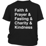 Load image into Gallery viewer, Faith Typography T-Shirt