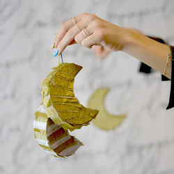 modernEID Style DIY: Crescent Moon Piñata Template
