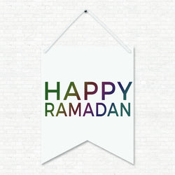 Happy Ramadan - Wall Art Hanging