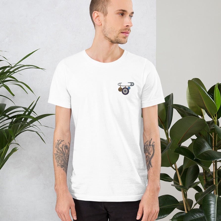Karma Safety pin T-Shirt