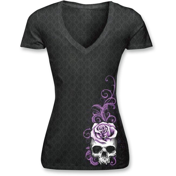 Lethal Threat Women'S Burnout Shirts