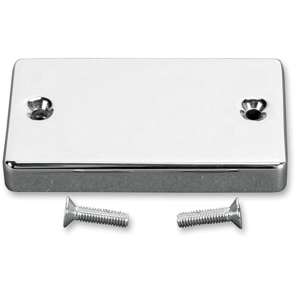 1731-0186 BARON Chrome Smooth Master Cylinder Cover COVER MASTER CYL SMTH