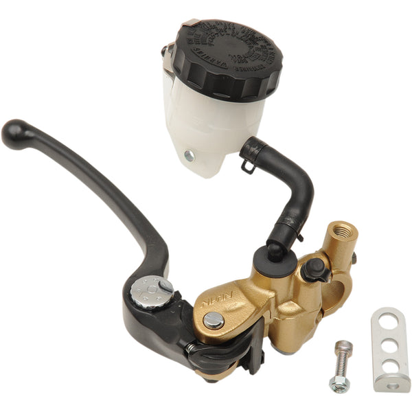 1731-0322 SHINDY 19mm Gold/Black/White Brake Radial Master Cylinder Kit MSTR CYL RADIAL19 GLD BLK