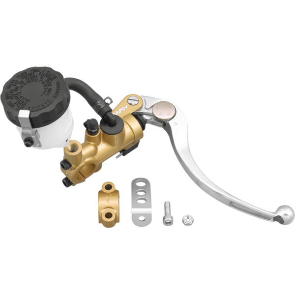 1731-0138 SHINDY 19mm Gold/Silver/White Brake Radial Master Cylinder Kit RADIAL MC GLD/SLV 19MM