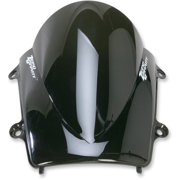 2301-1638 ZERO GRAVITY Dark Smoke Double Bubble Windscreen WSCREEN 13 600RR DB DMK