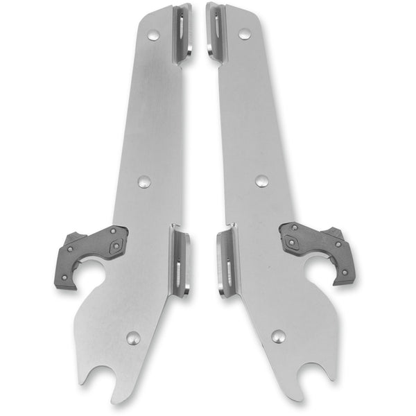 2321-0130 MEMPHIS SHADES METRIC Polished Plate-Only Hardware Kit PLATE KIT BW XV1900 POL