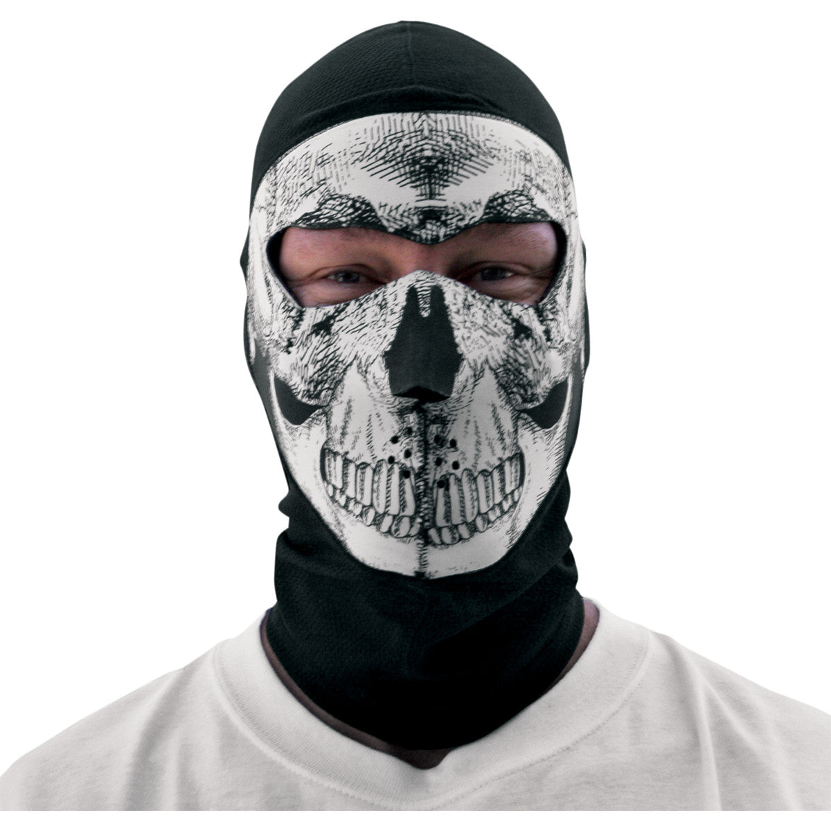 Zan Headgear Coolmax Balaclava With Neoprene Face Mask