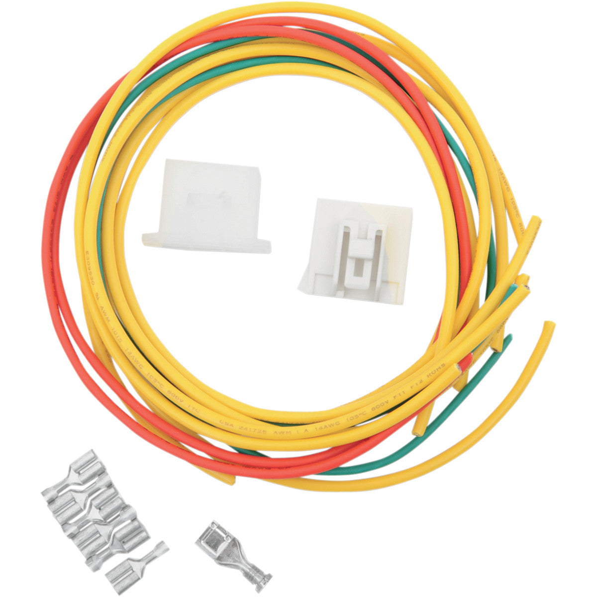 2120-0550 RICK'S MOTORSPORT ELECTRIC Rectifier/Regulator Wiring Harness Connector Kit WIRING CONNECTOR HON