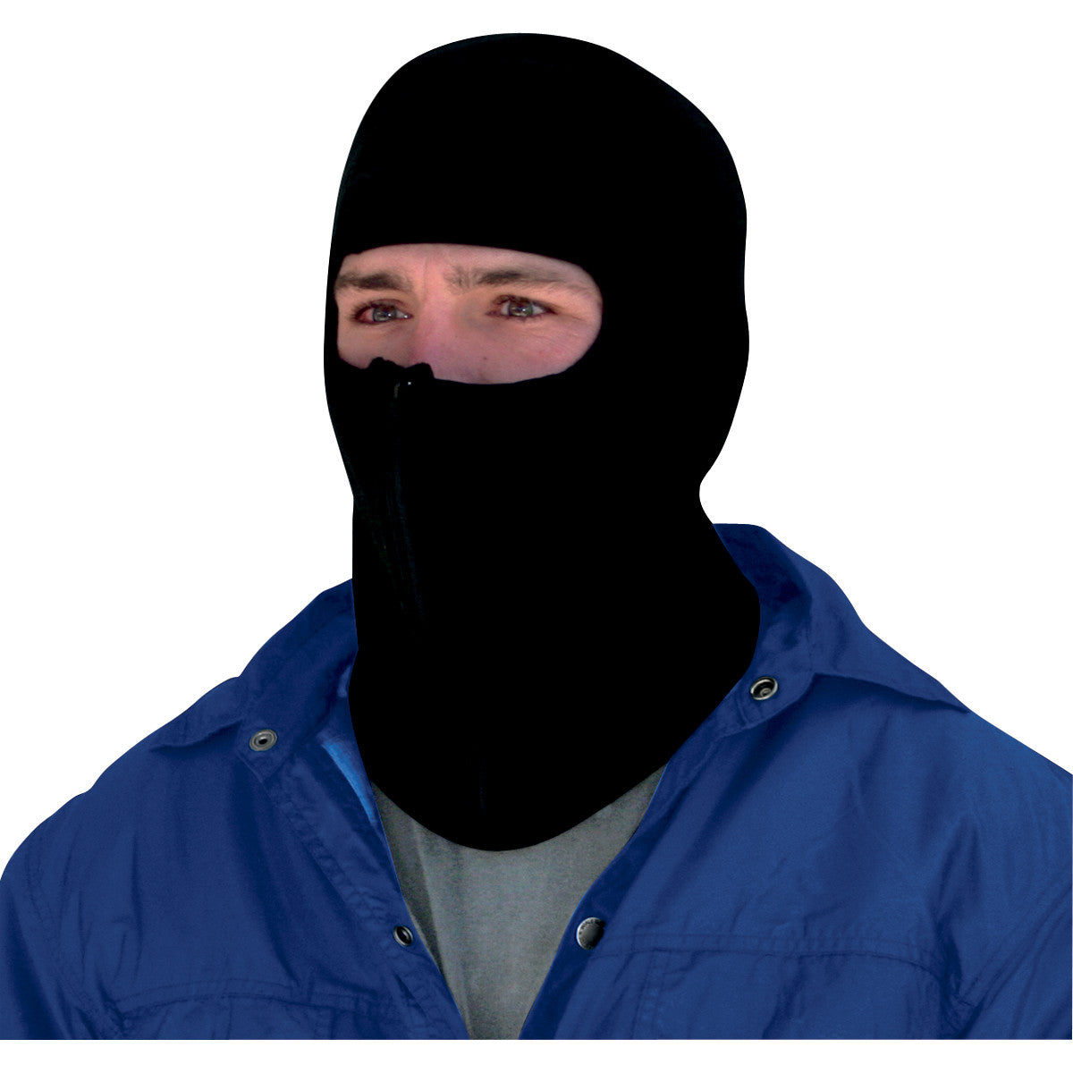 Zan Headgear Microfleece Balaclava With Zipper