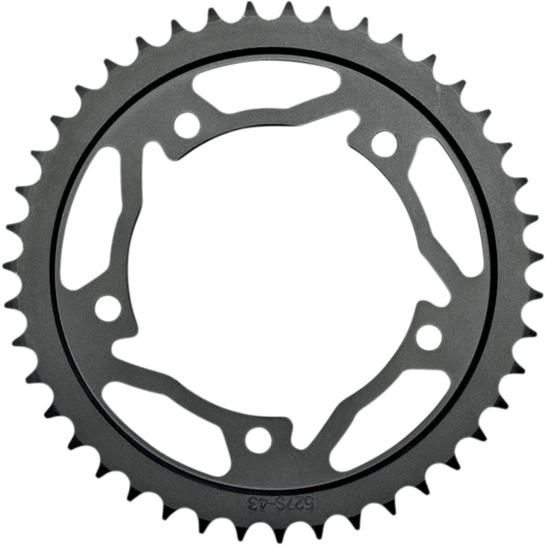 1210-0565 VORTEX 43T Black Steel Rear Sprocket SPROCKET VORTEX 527S-43