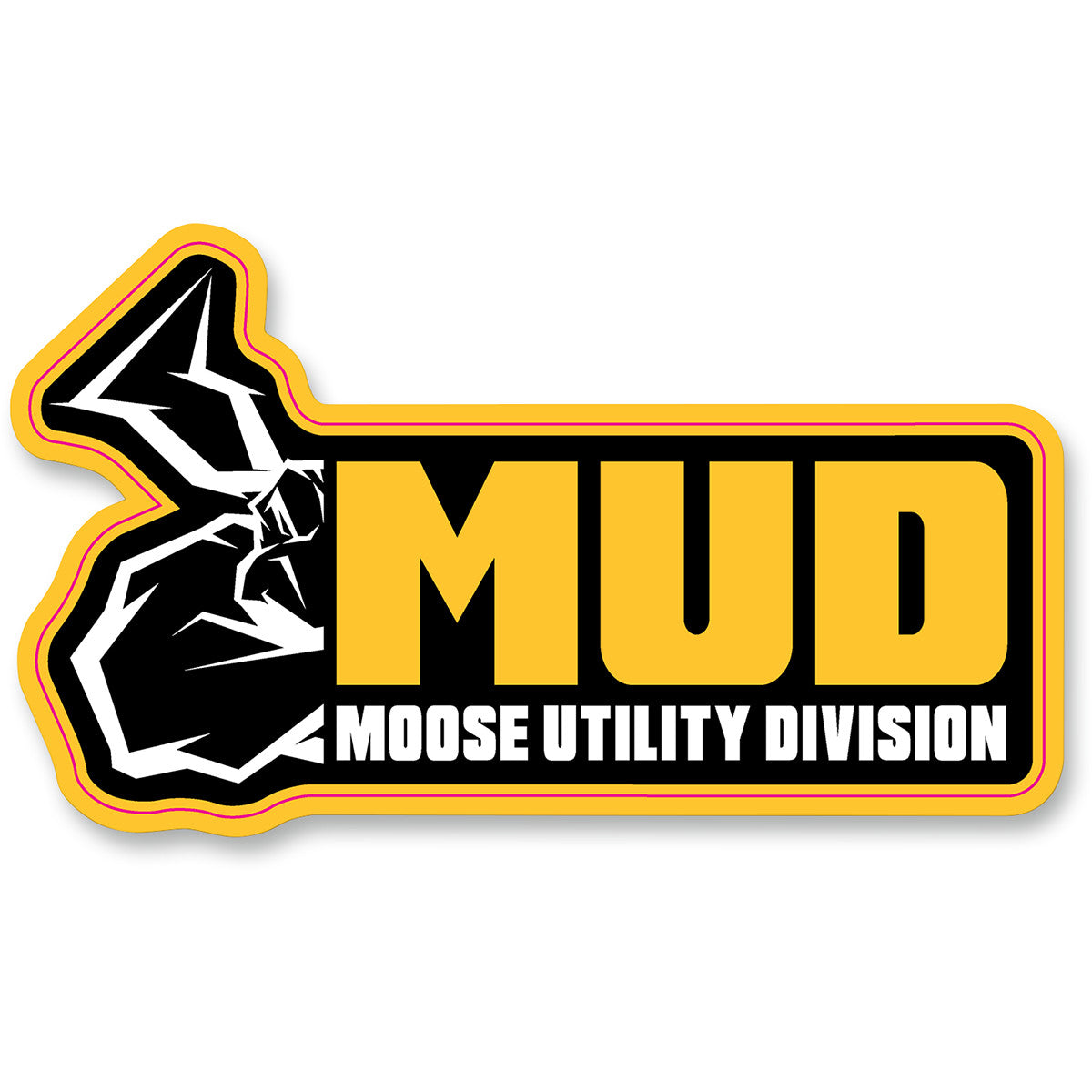 MOOSE Moose Utility Division Decal