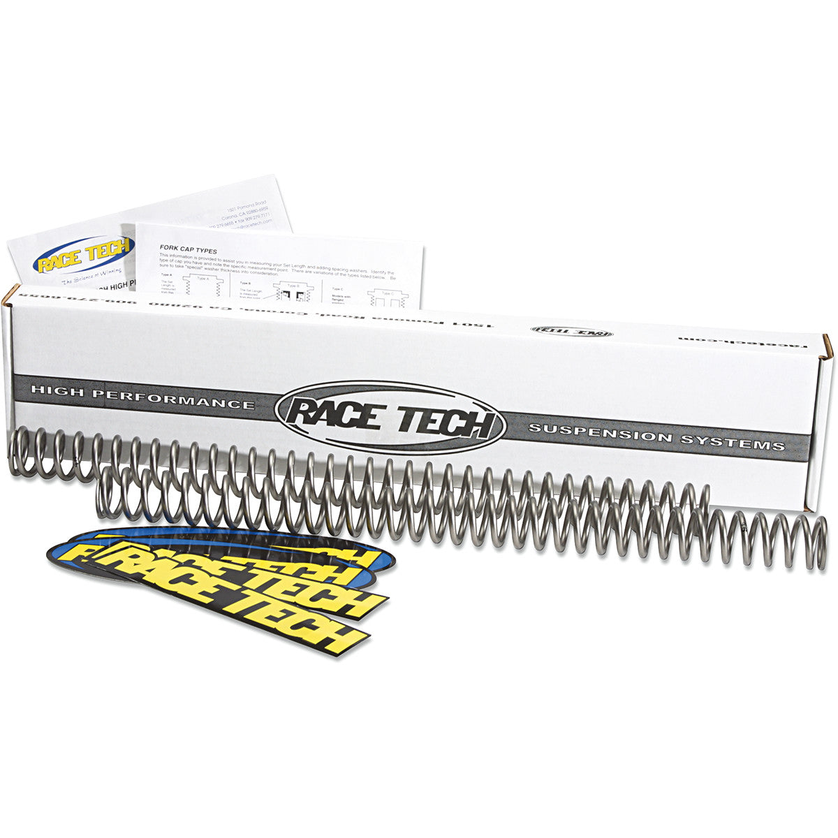 FRSPS382785 RACE TECH Fork Springs .85 KG/MM FORK SPRINGS