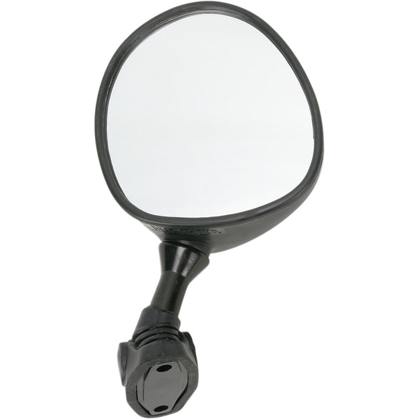 20-86892 EMGO Black Left-Hand OEM Replacement Mirror MIRROR YAMR1/R6 LEFT ONLY