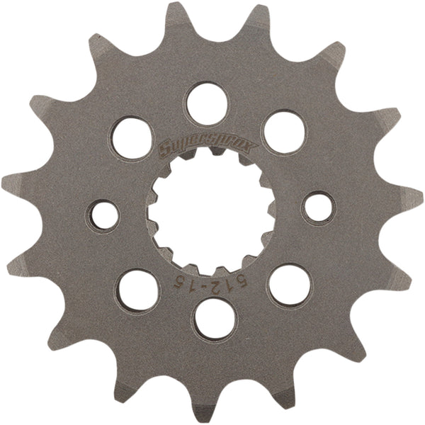 1212-1376 SUPERSPROX 520 15T Steel Countershaft Front Sprocket SPROCKET FR CST-512-15-2