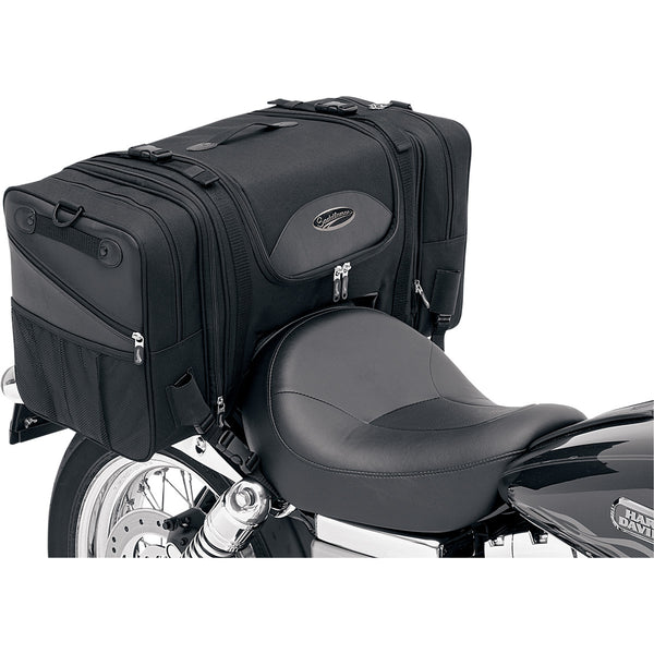 3516-0036 SADDLEMEN T3200S Deluxe Cruiser Tail Bag TAIL BAG CRUISER TS3200DE
