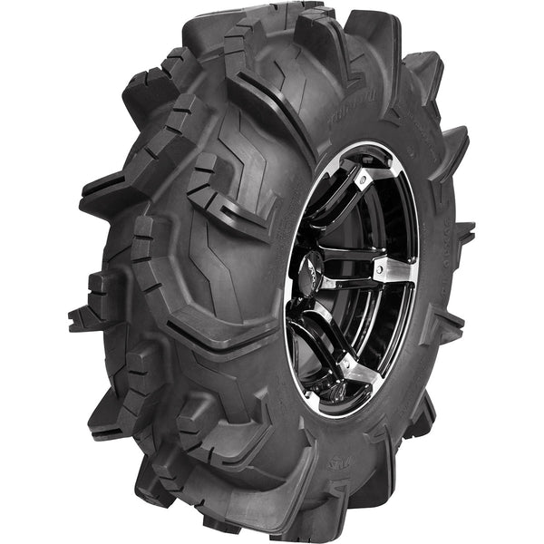 0331-1292 AMS 28x10-14 Mud Evil Front/Rear Left Tire/Wheel Kit TIRE/WHEEL RLN MD EV 28LT