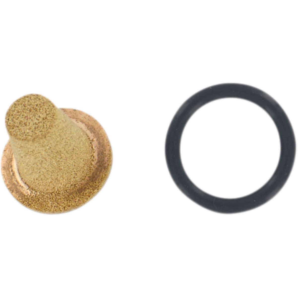 DS-391666 PINGEL Replacement 40 Micron Bronze Filter Element with O-Ring PINGEL BRASS FILTER ELEM.