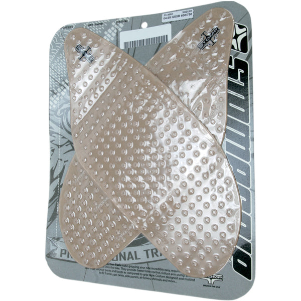 4320-1094 STOMPGRIP Clear Stompgrip Streetbike Traction Pad Tank Kit TRACTION KIT 55-10-0048