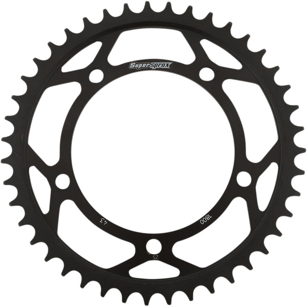 1210-2160 SUPERSPROX 530 43T Black Steel Rear Sprocket SPROCKET REAR STEEL 43T