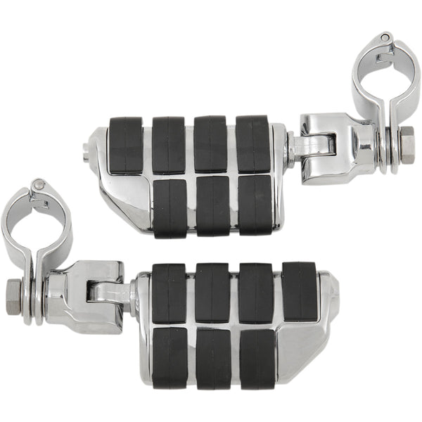 1620-0134 KURYAKYN Chrome Engine Guard Mount/Dually ISO™ Pegs PEG CLEVIS CLAMP DUALLY