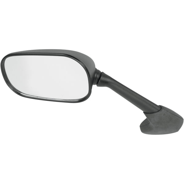 0640-0180 EMGO Black Left-Hand OEM Replacement Mirror MIRROR L BLK YAM