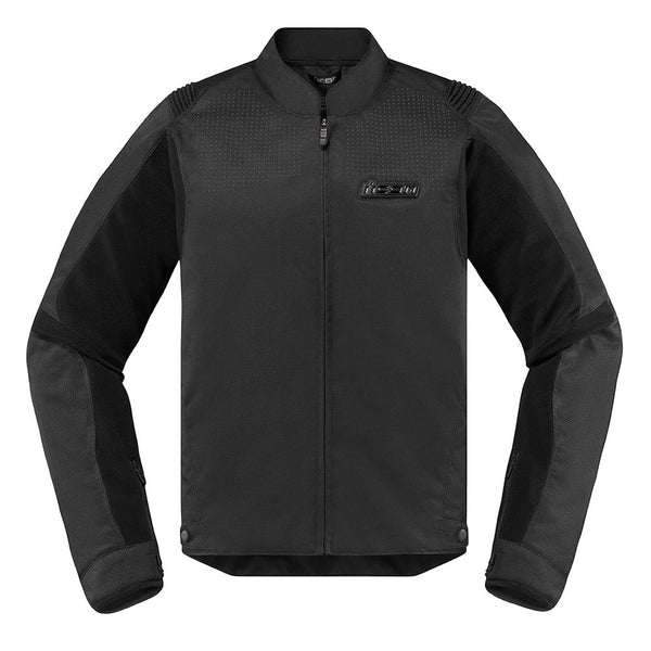 Icon Overlord SB2 Textile Jacket Stealth Black