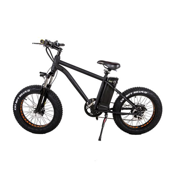 Nakto Electric Bicycle Mini Cruise Black E-Bike bmx