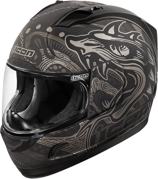 Icon Alliance Oroboros Black Helmet