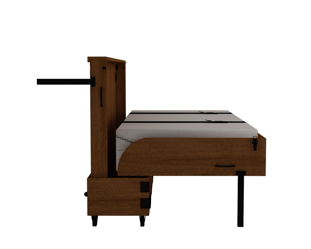 Xtrabed Queen Rolling Murphy Bed - Carmel