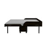 Birdsall Mid-Century Queen Rolling Murphy Bed - Noire Finish - Moderne Style