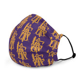 Laker color face mask