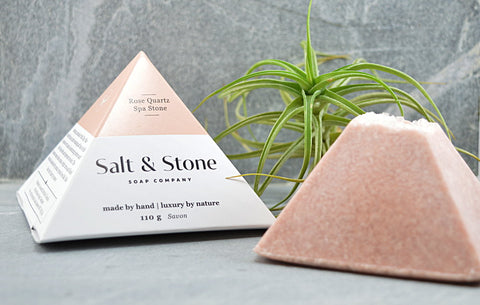 Rose Quartz Spa Soap Stone