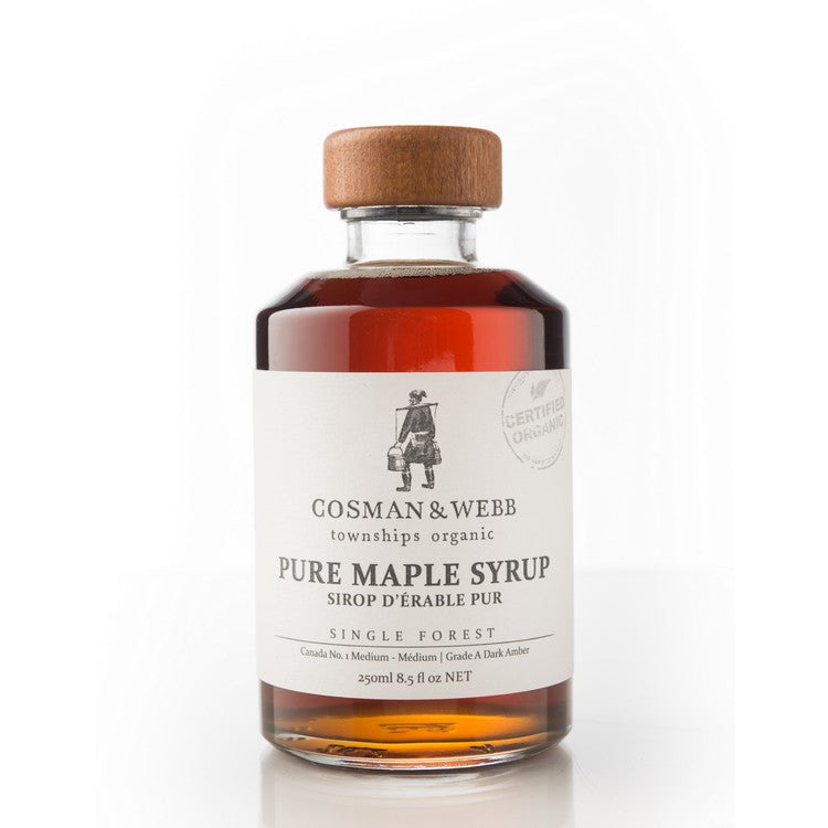 250ml Organic Maple Syrup, Amber Rich Taste