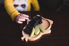 Children's Wooden Plates - Penguin
