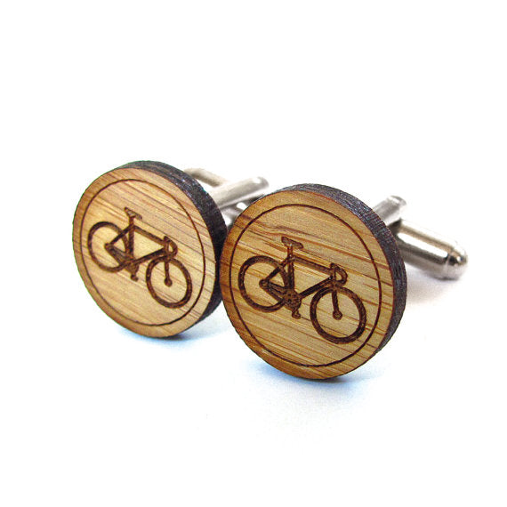 Bike Cuff Links