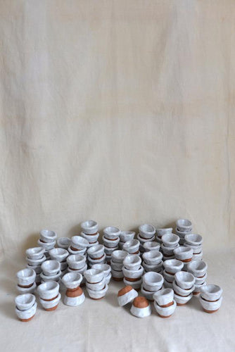 Handmade Salt & Pepper Pinch Pots Set