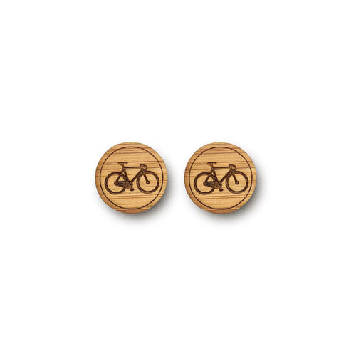 Mini Bike Earrings