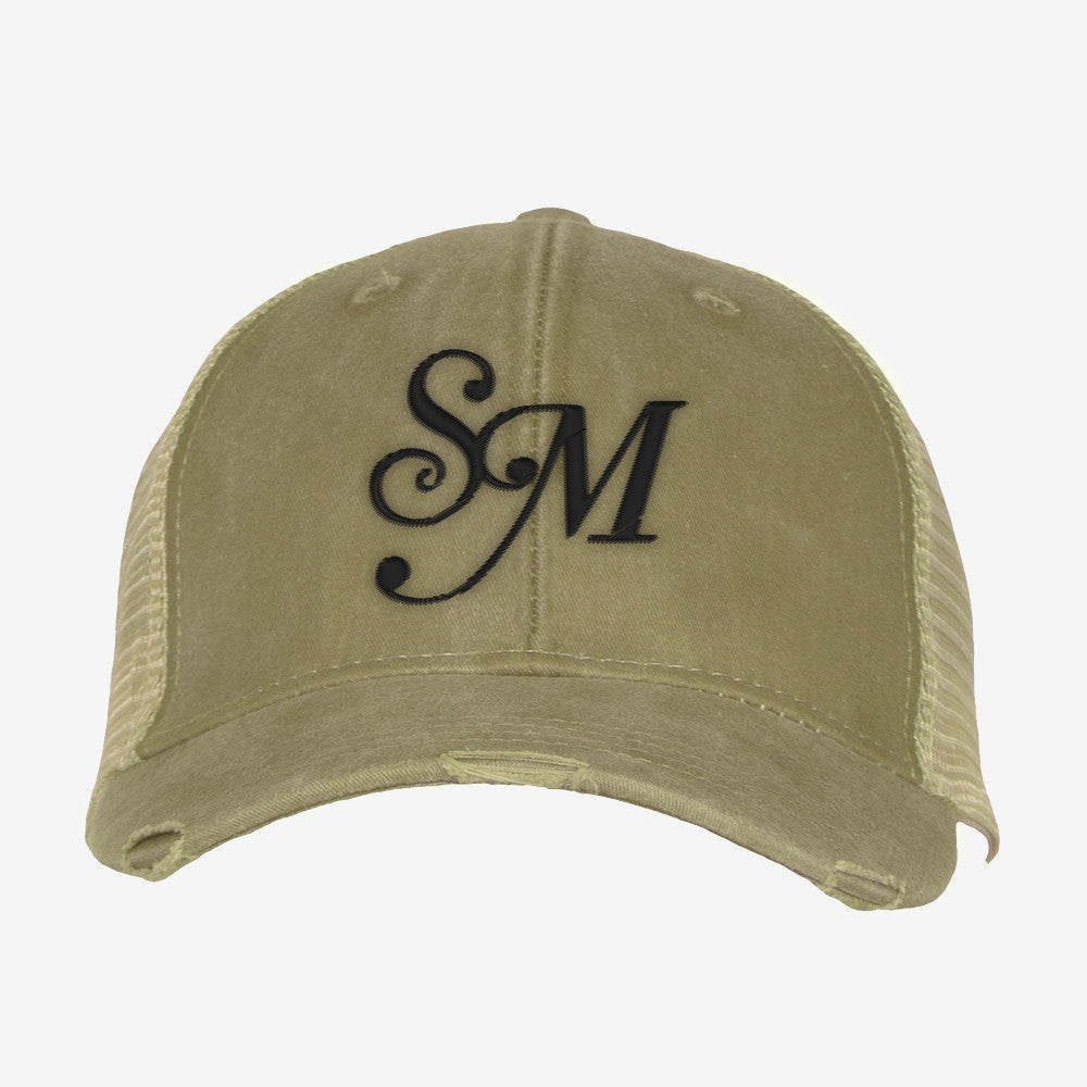 SM Distressed Trucker Hat
