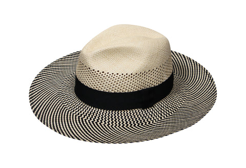 Bellagio Panama Fedora Hat