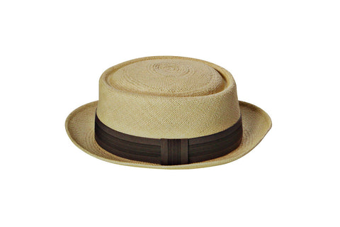 Panama Bella Blu Shoreditch Pork Pie Hat