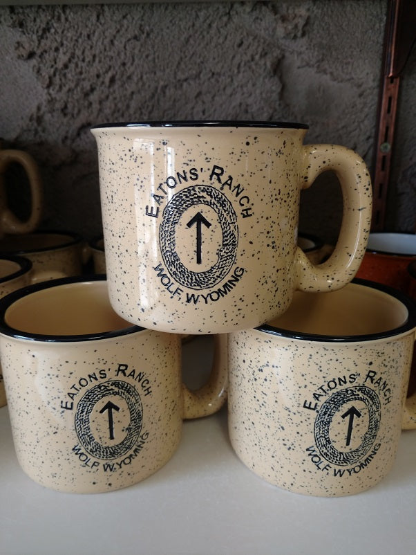 Creme Eatons' Ranch Arrowhead Mug