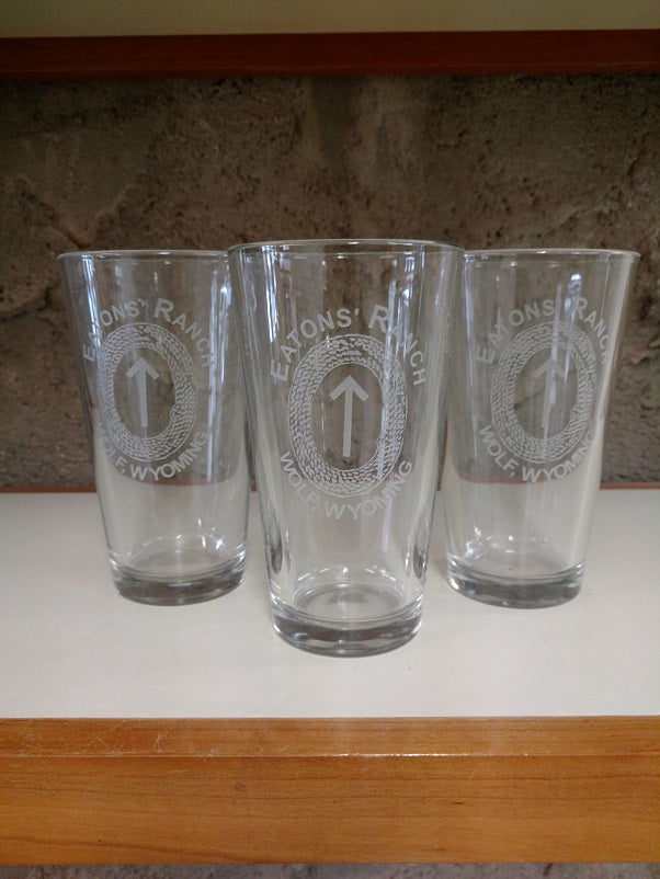 Eatons' Ranch Wolf Wyoming with Arrowhead Glasses