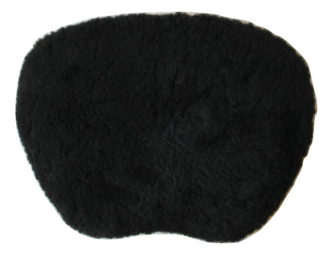 Sheepskin Gel Seat Pad with Contour-Cushioning Foam - Large