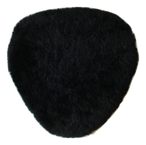 Sheepskin Gel Seat Pad with Contour-Cushioning Foam