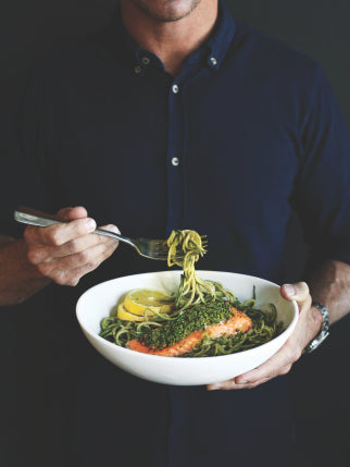 Salmon Zoodles