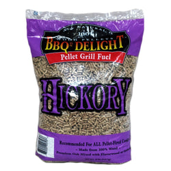 BBQers Delight Hickory Pellet Wood 20 Lbs
