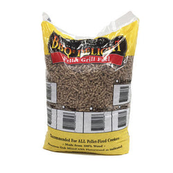 BBQer's Delight Peach Wood Pellets - 20lb Bag